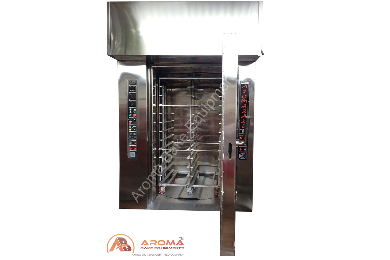 Rotary Rack Oven 84 and 120 tray